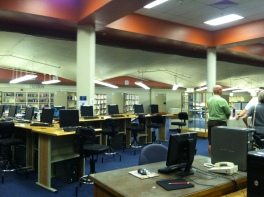 It used to be the LRC -Learning Resource Center - because that sounded cooler than library.