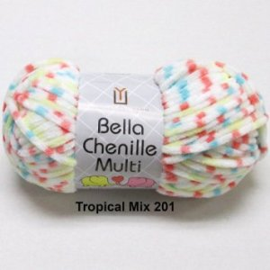Universal Bella Chenille Tropical Mix