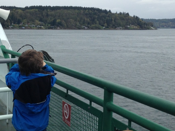 Another ferry near Vashon. It was a ferry week.