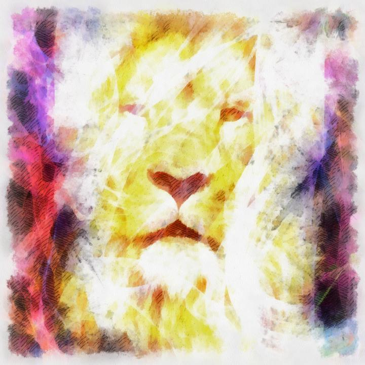 abstract-lion002