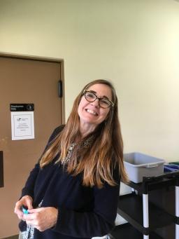 Allyson Schrier, writer and retreat organizer extraordinaire.